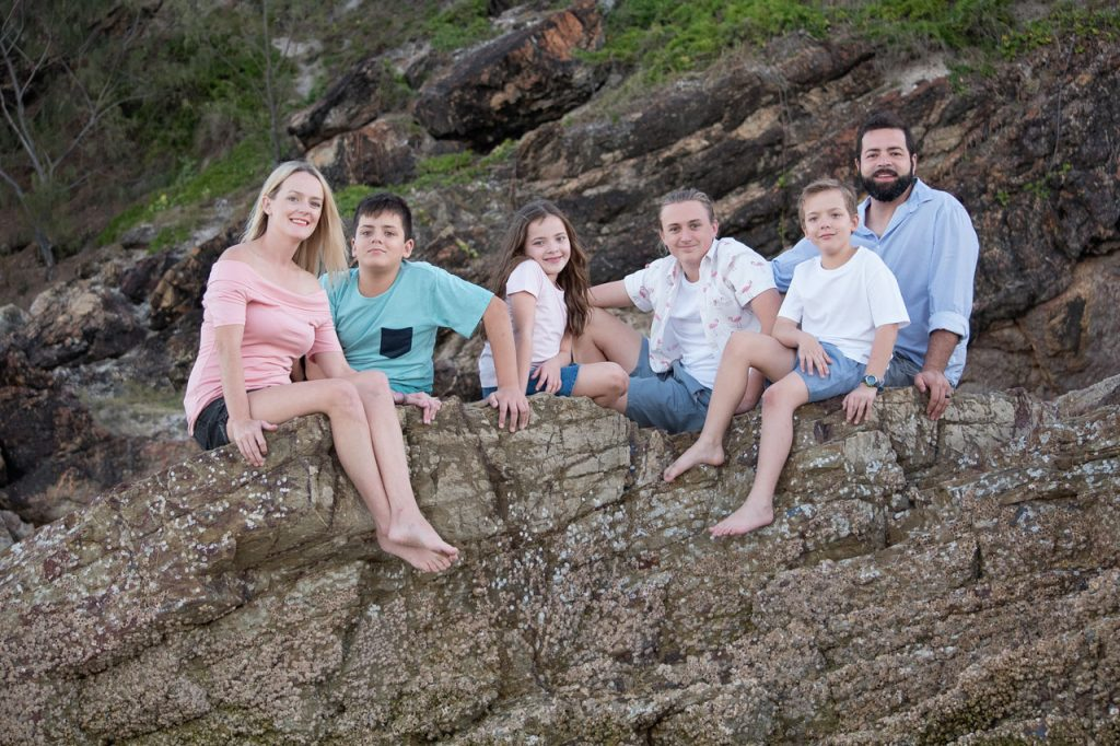 Miami Beach Gold Coast Family Photo Shoot